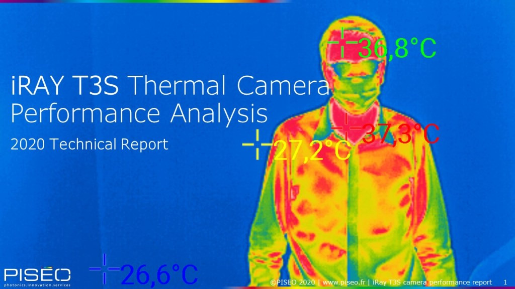 "NEW | IRay T3S thermal camera performance analysis"" report"